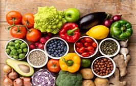 8 weeks on fruit- and vegetable-rich diets tied to better heart health